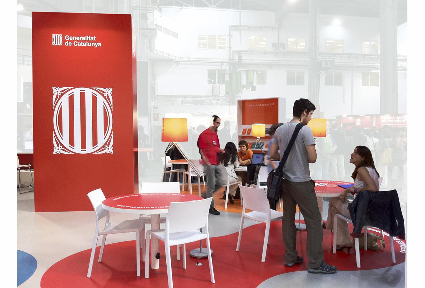 emprendedor-creartiva-stand-evento-feria- bussiness-congreso-disseny-grafic-barcelona-generalitat-catalunya