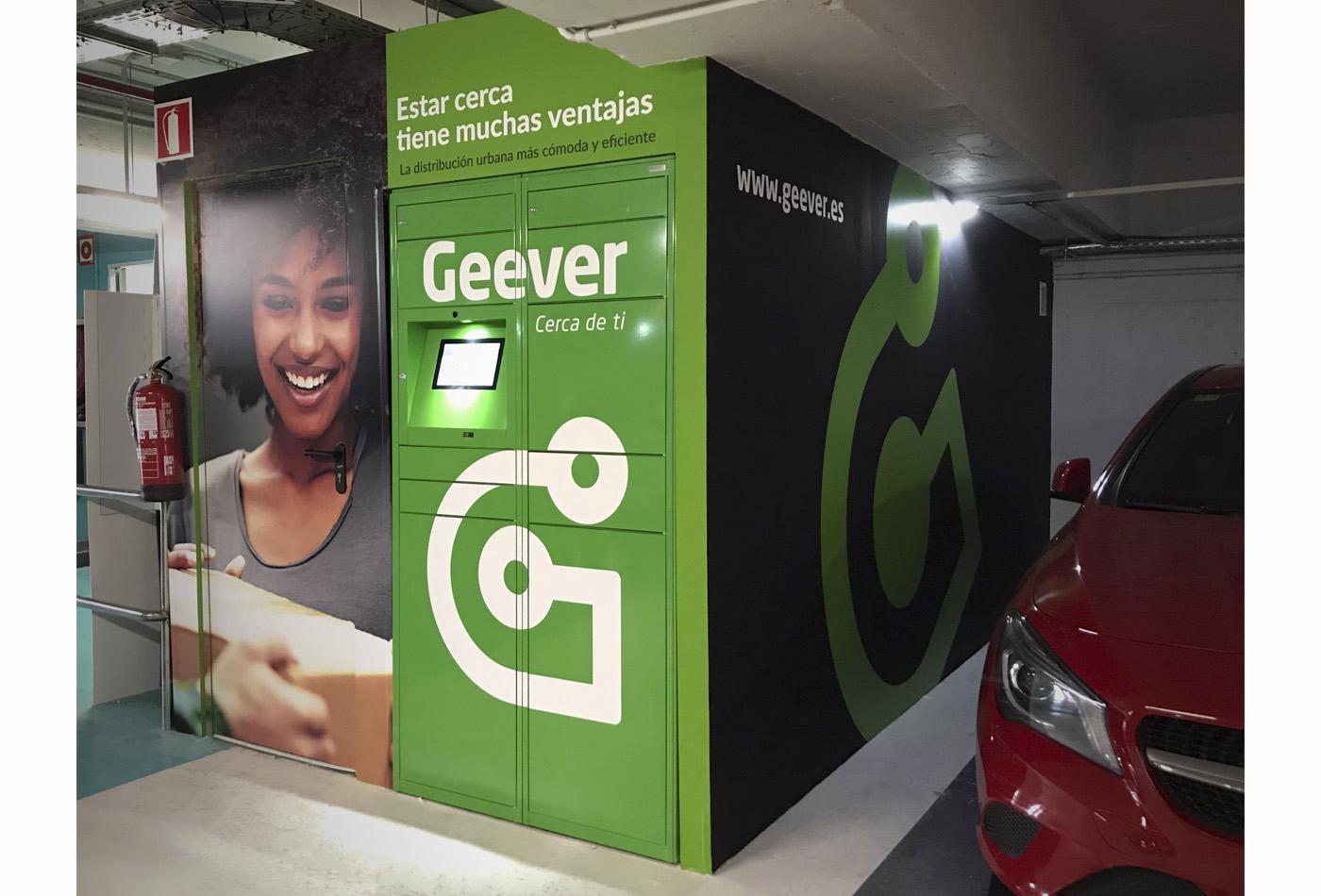 geever mensajeria disseny