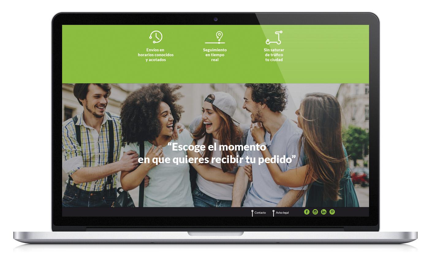 web-geever-mensajeria-disseny