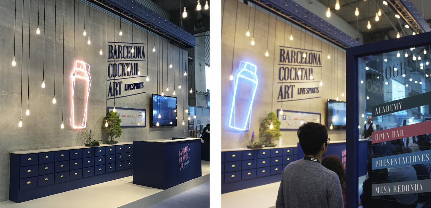 disseny espai cocktail