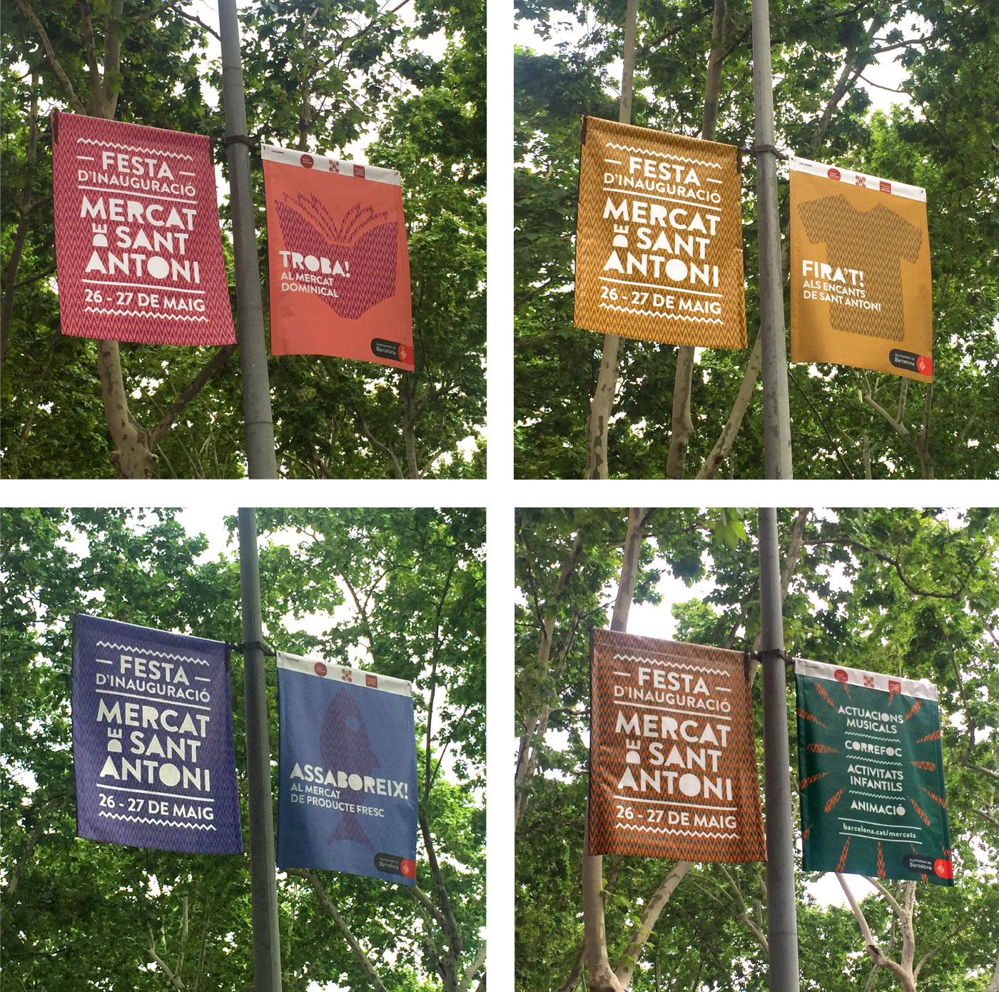 banderoles mercat sant antoni