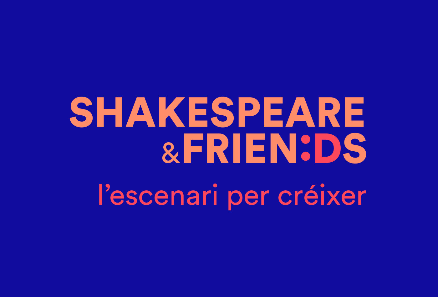 Shakespeare&Friends logo