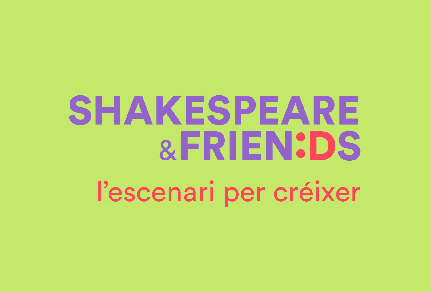 branding Shakespeare&Friends