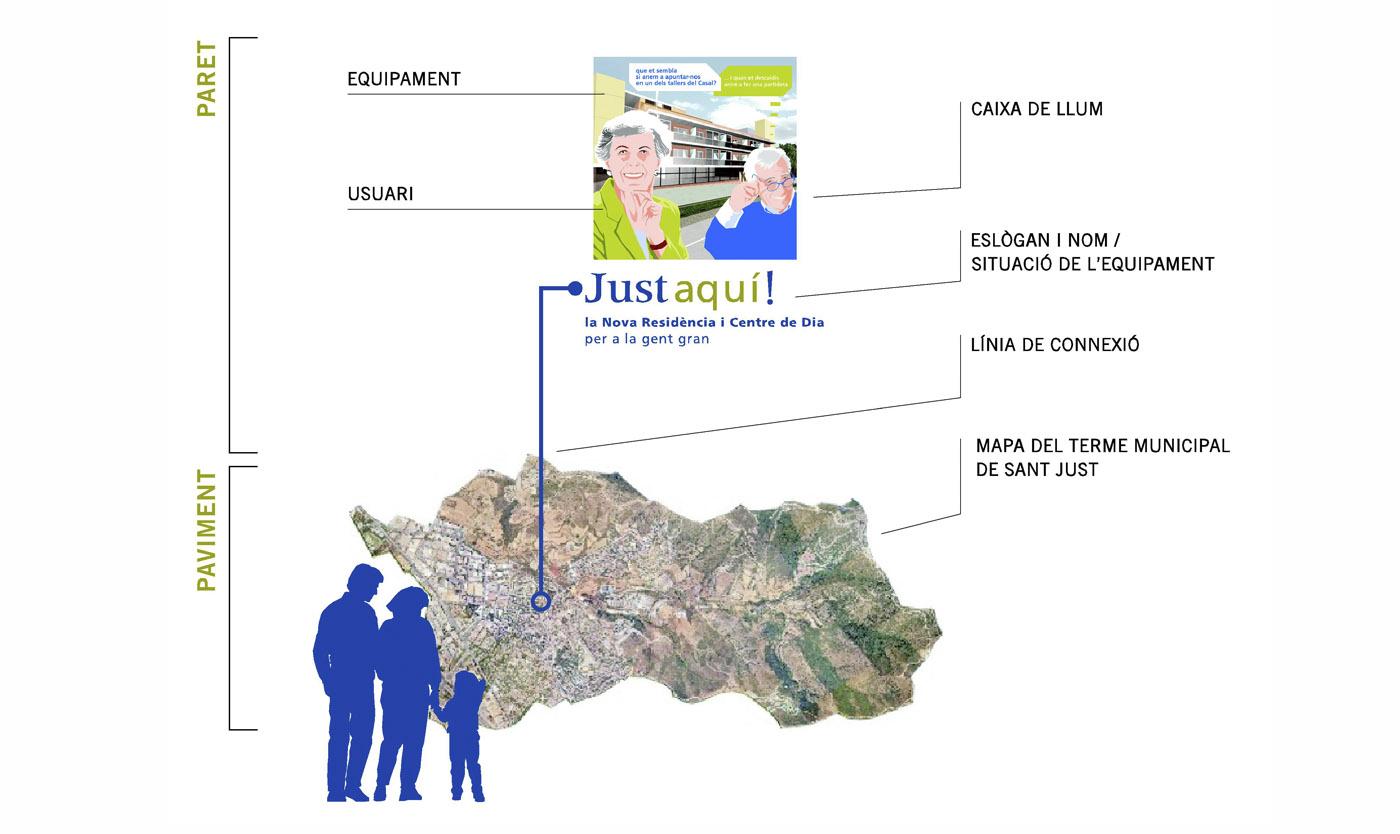 Sant-Just-esvern-stand-ajuntament-creartiva-exposició-barcelona-disseny-grafic