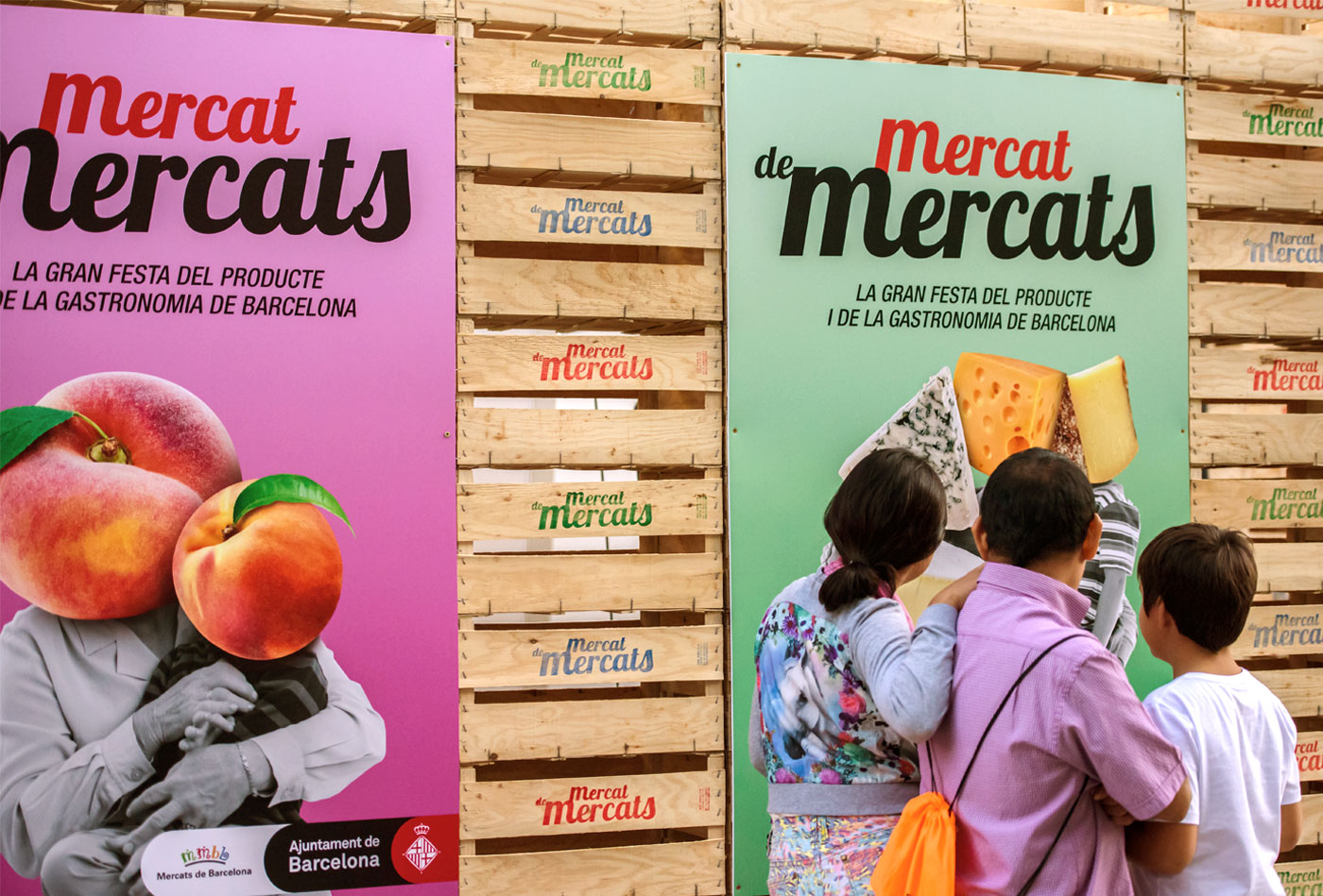 cartells-mercats-barcelona-fruita