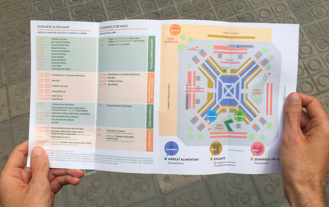 folleto mercat san antoni