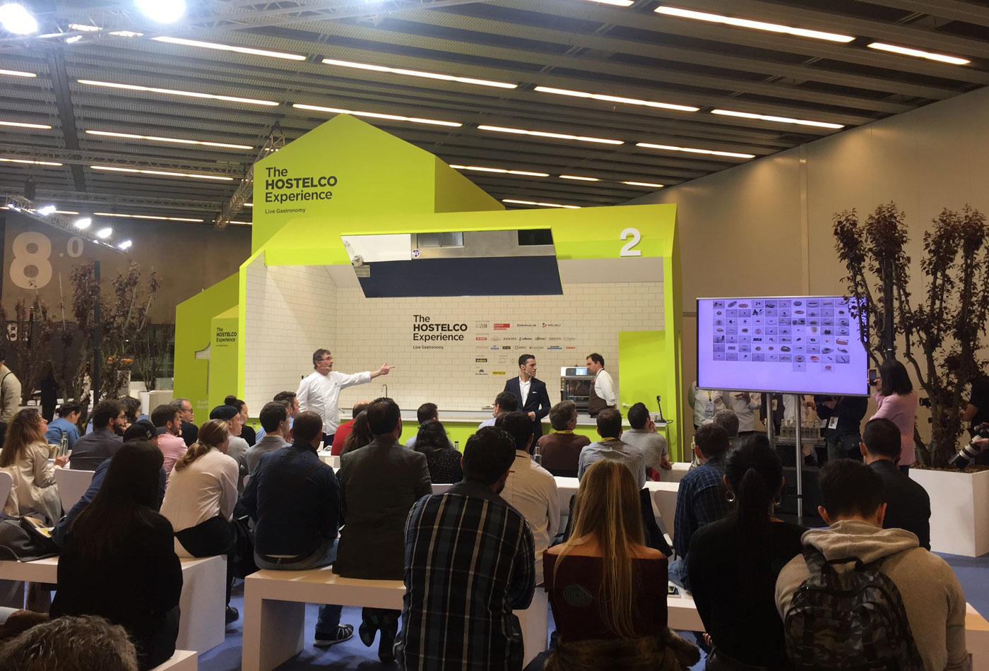 alimentaria hostelco experience