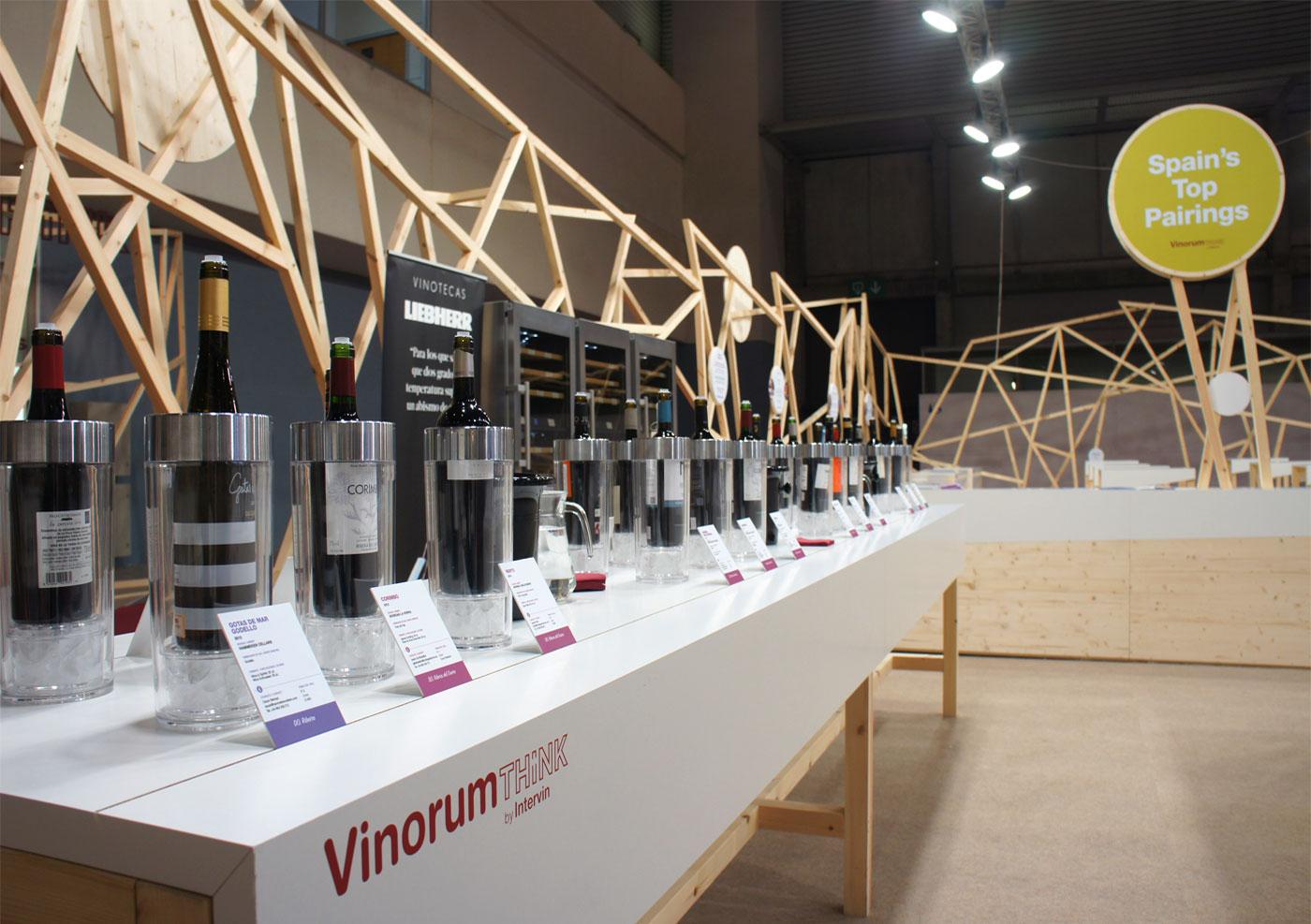 vinorum stand alimentaria barcelona