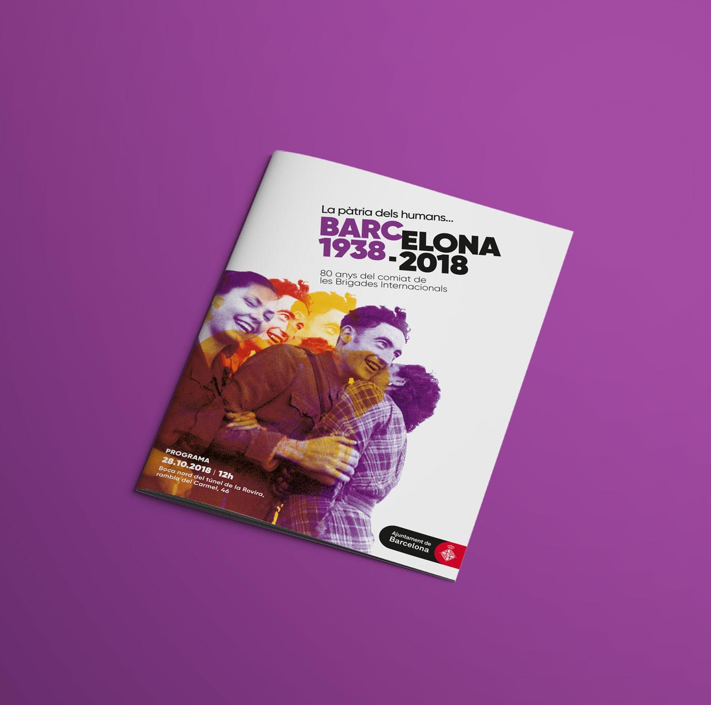 folleto brigades internationals