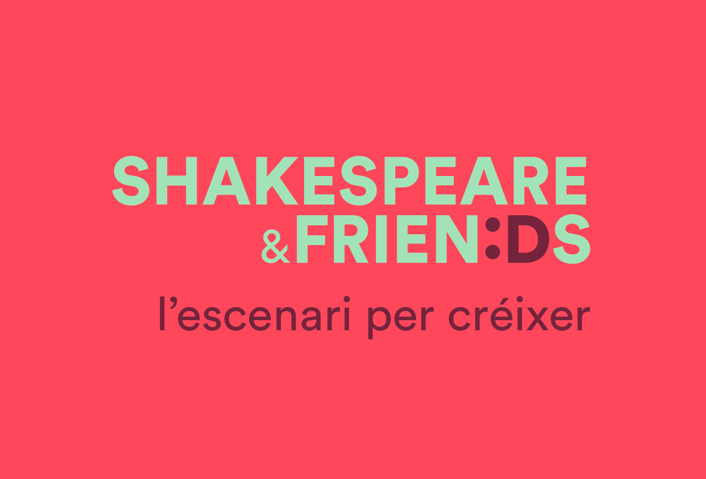 logotipo Shakespeare&Friends